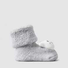 Grey Bear Rattle Socks  BIRCH MARLE  hi-res