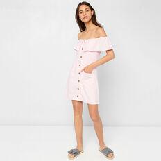 Ruffle Dress  PEACH BLOSSOM  hi-res