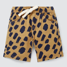 Animal Yardage Short  CARAMEL  hi-res