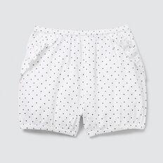 Frill Shorts  WHITE  hi-res