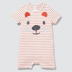 Stripe Bear Yardage Jumpsuit  TANGO RED  hi-res