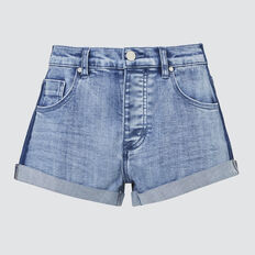 Wash Panel Short  BRIGHT WASH  hi-res