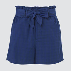 Gingham Short  ROYAL BLUE  hi-res
