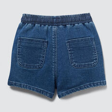 Denim Terry Short  INDIGO WASH  hi-res