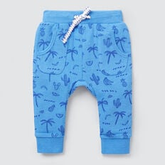Double Pocket Track Pant  CORNFLOWER BLUE  hi-res