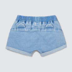 Novelty Denim Terry Short  BRIGHT WASH  hi-res