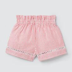 Stripe Shorts  APPLE RED/WHITE  hi-res