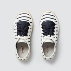 Stripe Lace-Up Espadrille  NAVY STRIPE  hi-res