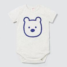 Chenille Bear Bodysuit  ICY MARLE  hi-res