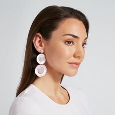 Tri Drop Earrings  LAVENDER  hi-res
