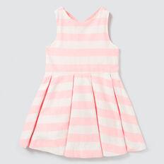 Stripe Cross Back Dress  MULTI  hi-res