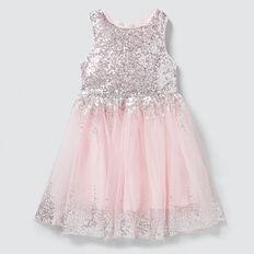 Sequin Party Dress  ICE PINK  hi-res