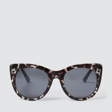 Amelie Cats Eye Sunglasses  GREY TORT  hi-res