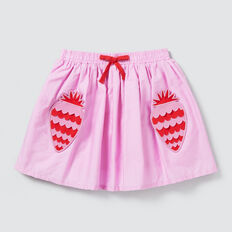 Strawberry Pocket Skirt  BRIGHT LILAC  hi-res