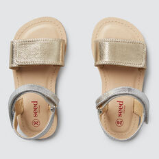 Two-Tone Sandal  METALLIC  hi-res