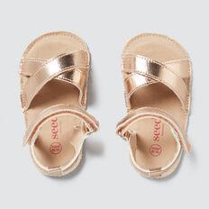 Rose Gold Crossover Sandal  ROSE GOLD  hi-res