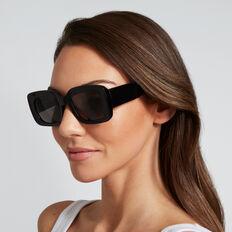Stella Rectangle Sunglasses  BLACK  hi-res