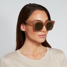 Simone D-Frame Sunglasses  CRYSTAL COFFEE  hi-res