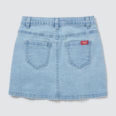 Button-Through Denim Skirt  SUMMER BLUE  hi-res