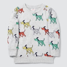 Dog Yardage Sweater  CLOUDY MARLE  hi-res