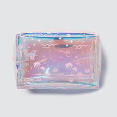 Clear Shell Zip Case  PINK  hi-res