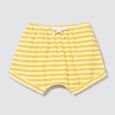 Stripe Towelling Short  SUNSHINE YELLOW  hi-res