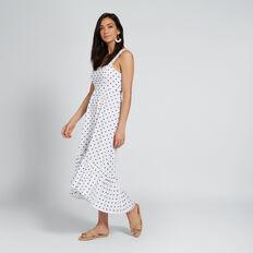 Polka Dot Dress  DEEP NAVY SPOT  hi-res