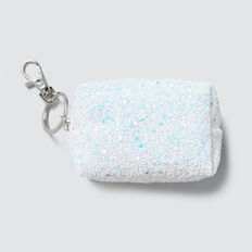 Glitter Coin Purse  WHITE  hi-res