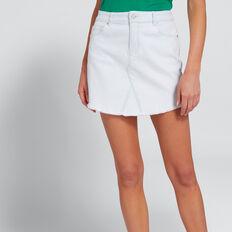 Denim Mini Skirt  ICE BLUE WASH  hi-res