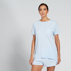 Dipped Tee  ALLURE BLUE  hi-res