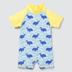 Whale Yardage Rashie Suit  MULTI  hi-res