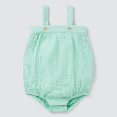 Cheesecloth Onesie  COOL MINT  hi-res