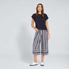 Casual Soft Pant  DEEP NAVY STRIPE  hi-res