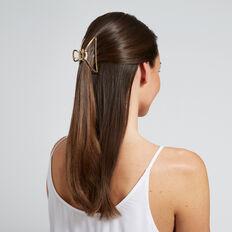 Shape Hair Clip  GOLD  hi-res