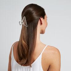 Shape Hair Clip  SILVER  hi-res