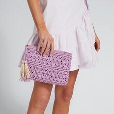 Lindsay Crochet Pouch  JASMINE  hi-res