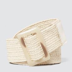 Woven Belt  CREAM  hi-res