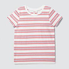 Basic Stripe Tee  VINTAGE WHITE  hi-res