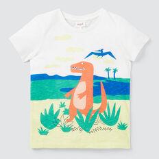 Dino Scene Tee  VINTAGE WHITE  hi-res