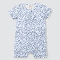Mini Star Yardage Zipsuit  BRIGHT BLUEBELL  hi-res