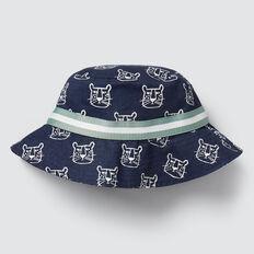 Leopard Sun Hat  MIDNIGHT BLUE  hi-res