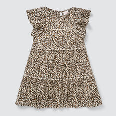 Ocelot Tiered Dress  SAFARI  hi-res