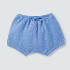 Quilted Spot Short  BRIGHT BLUEBELL  hi-res