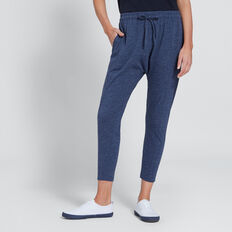 Seam Detail Harem Track Pant  DARK DENIM MARLE  hi-res