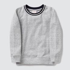 Pique Sweater  PEBBLE MARLE  hi-res