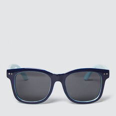 Colour Split Waymax Sunglasses  BLUE  hi-res