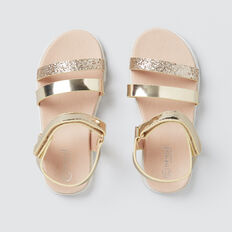 Toddler Party Sandal  GOLD  hi-res