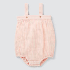 Cheesecloth Onesie  PEACH  hi-res