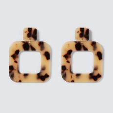 Square Tort Earrings  TORT  hi-res