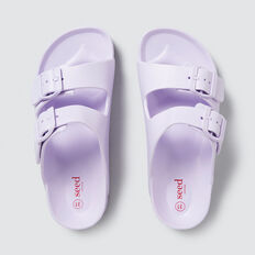 Beach Buckle Slider  LILAC  hi-res